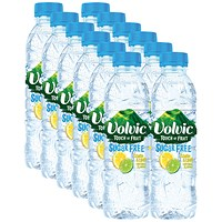 Volvic Touch of Fruit Lemon and Lime Fruit Water 500ml (Pack of 12)