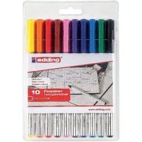 Edding 89 Office Liner Assorted (Pack of 10)