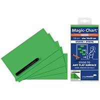 Legamaster Magic Notes 20X10cm Green (Pack of 100)