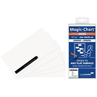 Legamaster Magic Notes 20X10cm White (Pack of 100)