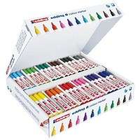 Edding 8 Colour Marker Bullet Tip Assorted (Pack of 144)