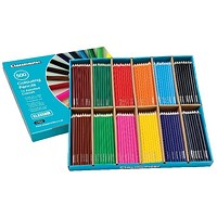 Classmaster Colouring Pencils, Assorted, Pack of 500