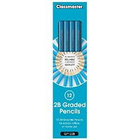 Classmaster 2B Pencil (Pack of 12)