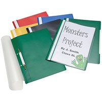 Classmaster Project Files A4 Assorted (Pack of 100)