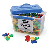 Show-me Magnetic Lower Case Letters - Tub of 286