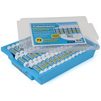 Classmaster 20g Education Gluestick - Tray of 72