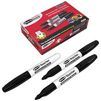 Show-me Teacher Drywipe Marker, Black, Pack of 10