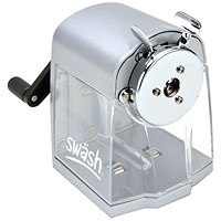 Swash Metal Desktop Pencil Sharpener