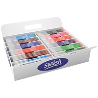 Swash Komfigrip Colouring Pen, Broad Tip, Assorted, Pack of 300