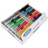 Swash Komfigrip Colouring Pen, Fine, Assorted, Pack of 300
