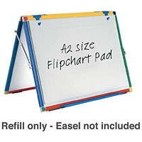Show-me Flipchart Pad, A2, Plain, Pack of 5