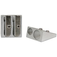 Classmaster Double Hole Pencil Sharpener Metal (Pack of 25)