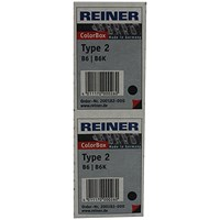 COLOP Reiner B6K Replacement Ink Pad Black (Pack of 2) RB6KINK