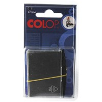 COLOP E/2600 Replacement Ink Pad Black (Pack of 2)