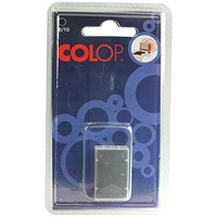 COLOP E/10 Replacement Ink Pad Black (Pack of 2)