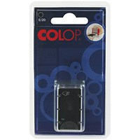 COLOP E/20 Replacement Ink Pad Black (Pack of 2)