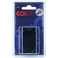 COLOP E/40 Replacement Ink Pad Black (Pack of 2)
