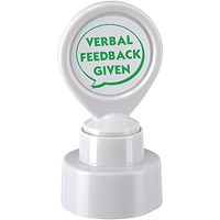 Colop Motivational Stamp - Verbal Feedback Given