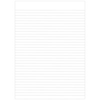 Graffico Recycled Memo Pad 160 Pages A4 (Pack of 10)