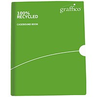 Graffico Recycled Casebound Notebook 160 Pages A5