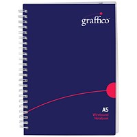 Graffico Polypropylene Wirebound Notebook 140 Pages A5