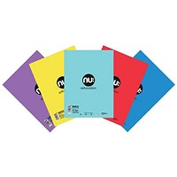 Nu Education Scrapbook A4 Plus Assorted (Pack of 50)