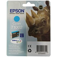 Epson T1002 Cyan Ink Cartridge C13T10024010