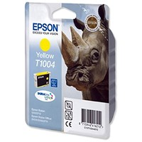Epson T1004 Yellow DURABrite Ultra Inkjet Cartridge