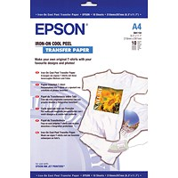Epson Cool Peel Iron-On Transfer Paper (Pack of 10) S041154