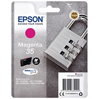 Epson DURABrite 35 Ultra Magenta Ink Cartridge