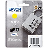 Epson DURABrite 35 Ultra Yellow Ink Cartridge