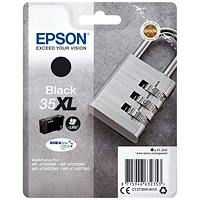Epson DURABrite 35XL High Yield Ultra Black Ink Cartridge