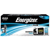 Energizer Max Plus AAA Batteries (Pack of 20)