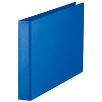 Esselte Ring Binder, A3, 4 O-Ring, 25mm Capacity, Landscape, Blue