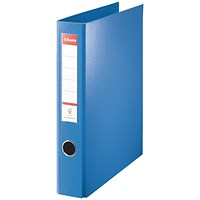 Esselte Maxi Ring Binder, A4, 4 D-Ring, 40mm Capacity, Blue