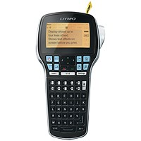 Dymo LabelManager 420P Compact Label Maker 4-Line Display ABC 10 Styles 7 Type-sizes D1 Ref S0915490