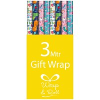 Assorted Kids Gift Wrap (Pack of 39)