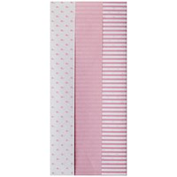 Pink Baby Tissue Paper (Pack of 12)