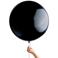 Black Gender Reveal Balloon (Pack of 6)