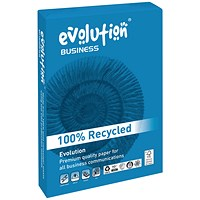 Evolution Business A3 Recycled Paper White, 100gsm, Ream (500 Sheets)