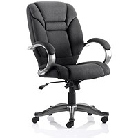 Galloway Executive Chair, Black, Assembled