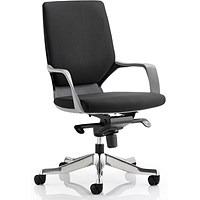 Xenon Medium Back Executive Chair - Black