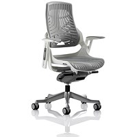 Zure Elastomer Executive Chair, Grey, Built