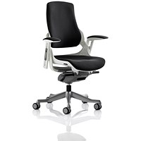 Zure Executive Chair, Black, Assembled