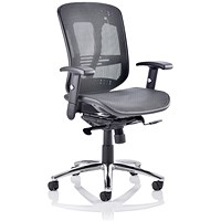 Mirage II Mesh Executive Chair, Black