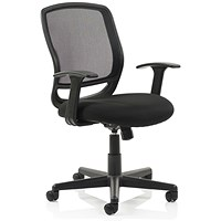 Mave Mesh Task Operator Chair, Black