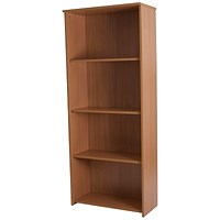 Basix Tall Bookcase - Beech