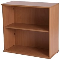 Retro Desk-High Bookcase - Beech