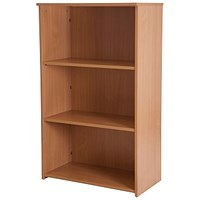 Retro Medium Bookcase - Beech