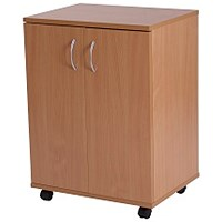 Retro Low Cupboard - Beech